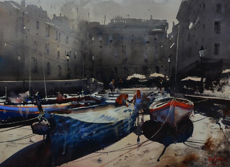 Boats Vernazza