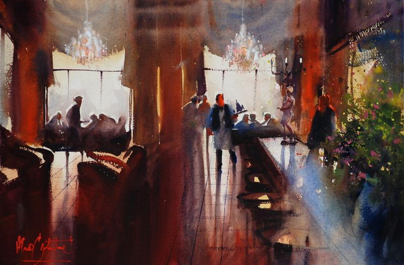 Series II Bourla Cafe in Antwerp